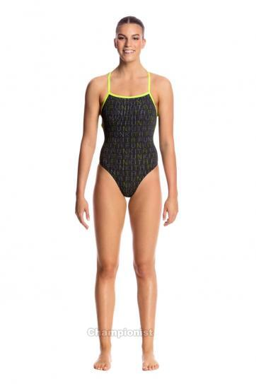 FUNKITA LADIES STRAPPED IN ONE PIECE BINARY BABE | ΓΥΝΑΙΚΕΙΑ -