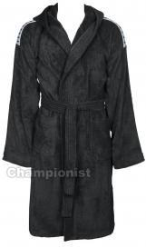 ARENA CORE SOFT ROBE MEN BLACK