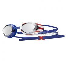TYR BLACK HAWK RACING MIRRORED USA SILVER RED NAVY