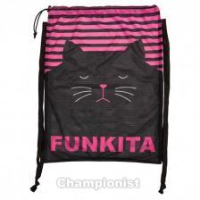 FUNKITA MESH GEAR BAG CRAZY CAT