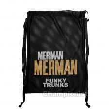 FUNKY TRUNKS MESH GEAR BAG GOLDEN MERMAN