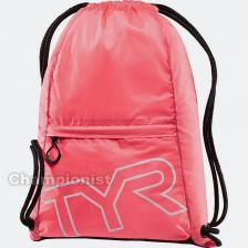 TYR DRAW STRING BACKPACK PINK