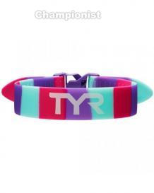 TYR TRAINING PULL STRAP PINK/PURPLE