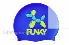 FUNKITA SILICONE SWIMMING CAP BALLOON DOG