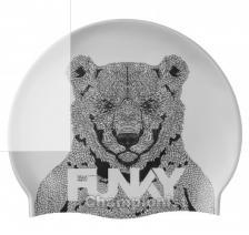 FUNKITA SILICONE SWIMMING CAP BEAR BUM