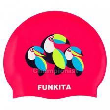 FUNKITA SILICONE SWIMMING CAP CAN FLY