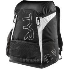 TYR ALLIANCE 45L BACKPACK BLACK/WHITE