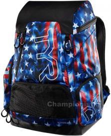 TYR ALLIANCE 45L BACKPACK USA GENESIS RED/WHITE/BLUE