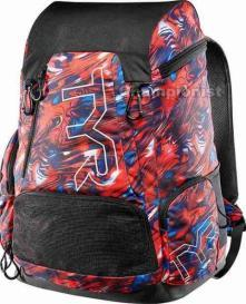 TYR ALLIANCE 45LT BACKPACK MERCURY RED/WHITE/BLUE
