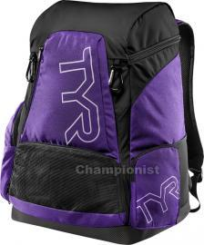 TYR ALLIANCE 45LT BACKPACK PURPLE/BLACK
