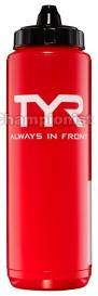 TYR WATER BOTTLE RED