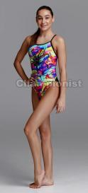 FUNKITA GIRLS SINGLE STRAP ONE PIECE  INCY WINCY