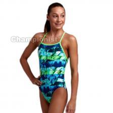 FUNKITA GIRLS STRAPPED IN ONE PIECE ICY ICELAND