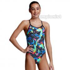FUNKITA GIRLS TWISTED ONE PIECE  SNAKE PIT