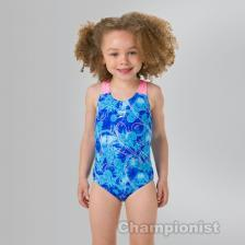 SPEEDO ALLOVER 1 PIECE FROZEN