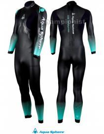 PHELPS FULL SUIT AQUASKIN 1MM MEN