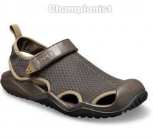 CROCS SWIFTWATER  MESH DECK SANDAL MEN ESPRESSO