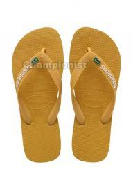 HAVAIANAS BRASIL LAYERS MEN BURNED YELLOW