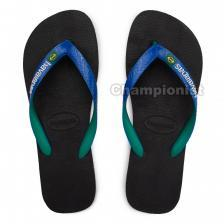 HAVAIANAS BRASIL MIX MEN BLACK/BLUE STAR