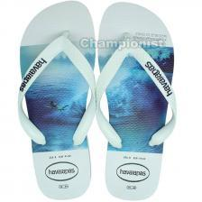 HAVAIANAS HYPE WHITE/WHITE/BLUE MEN MEN