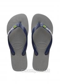 HAVAIANAS LOGO MEN STEEL GREY/NAVY