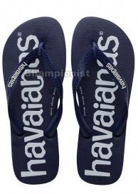 HAVAIANAS TOP LOGOMANIA MEN NAVY BLUE