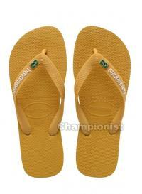 HAVAIANAS BRASIL LAYERS BURNED YELLOW