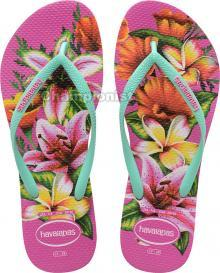 HAVAIANAS SLIM FLORAL HOLLYWOOD ROSE