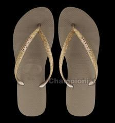 HAVAIANAS SLIM GLITTER ROSE GOLD WOMEN