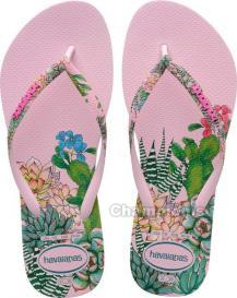 HAVAIANAS SLIM SENSATION CRYSTAL ROSE WOMEN