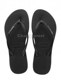HAVAIANAS SLIM SPARKLE WOMEN BLACK