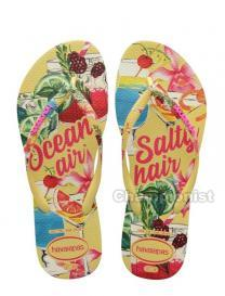 HAVAIANAS SLIM SUMMER WOMEN LEMON YELLOW