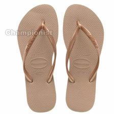 HAVAIANAS SLIM WOMEN ROSE GOLD