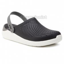 CROCS LITERIDE CLOG YOUTH BLACK/WHITE
