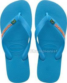 HAVAIANAS BRASIL LAYERS TURQUOISE YOUTH
