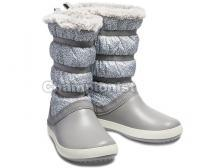 CROCS CB LODGEPOINT METALLIC BOOT GIRLS