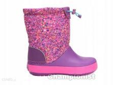CROCS CROCBAND LODGEPOINT GRAPHIC BOOTS GIRLS