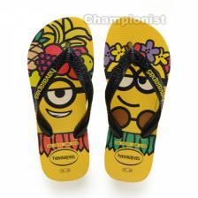 HAVAIANAS KID MINIONS CITRIC YELLOW/BLACK/CITRIC